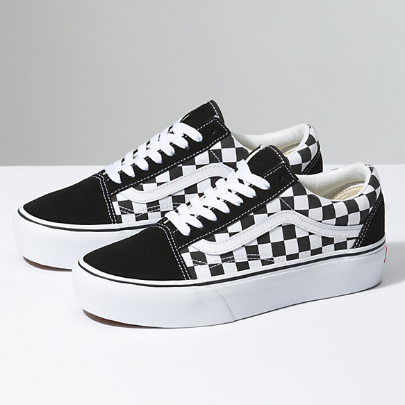 45f1f708d1b3 Checkerboard Old Skool Platform