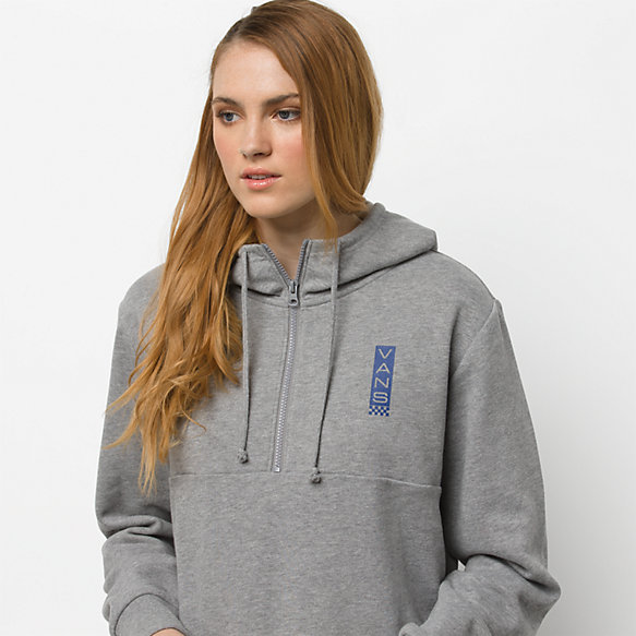 Side With Quarter Zip Hoodie