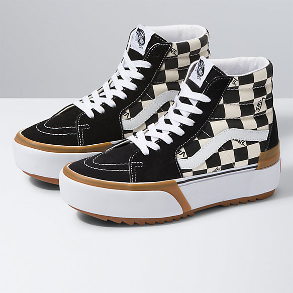 Checkerboard Sk8-Hi Stacked