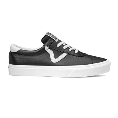 vans with leather back