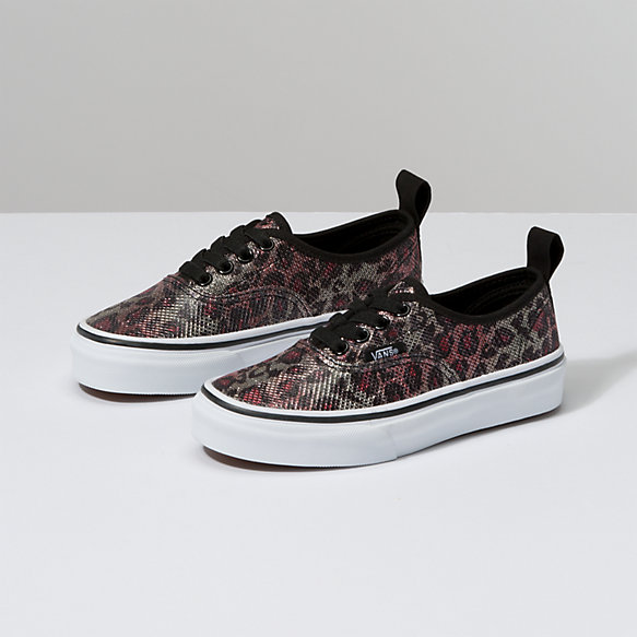 Kids Leopard Mesh Authentic Elastic Lace
