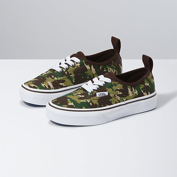 Kids Animal Camo Authentic Elastic Lace