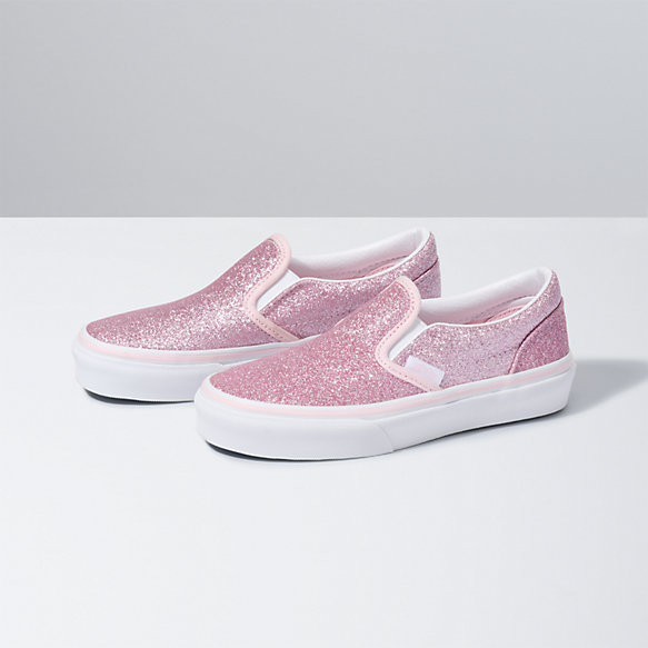 Kids Glitter Classic Slip-On