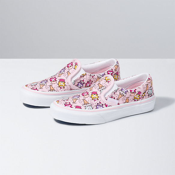 Kids Kitty Cakes Classic Slip-On