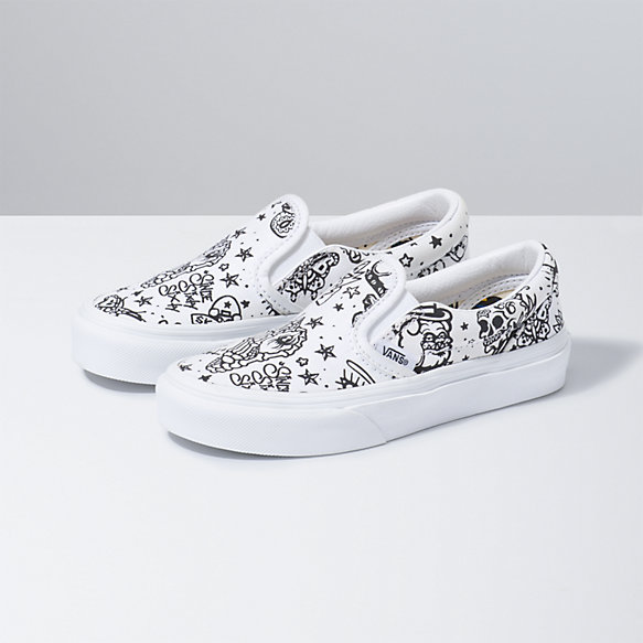 Kids U-Color Classic Slip-On