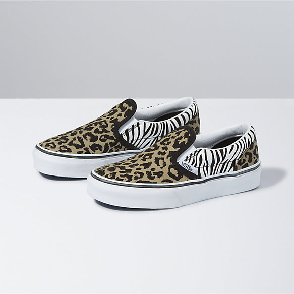 Kids Animal Mix Classic Slip-On