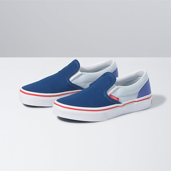 Kids Color Block Classic Slip-On