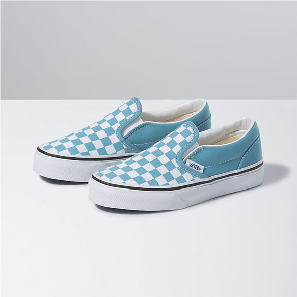 Kids Checkerboard Classic Slip-On