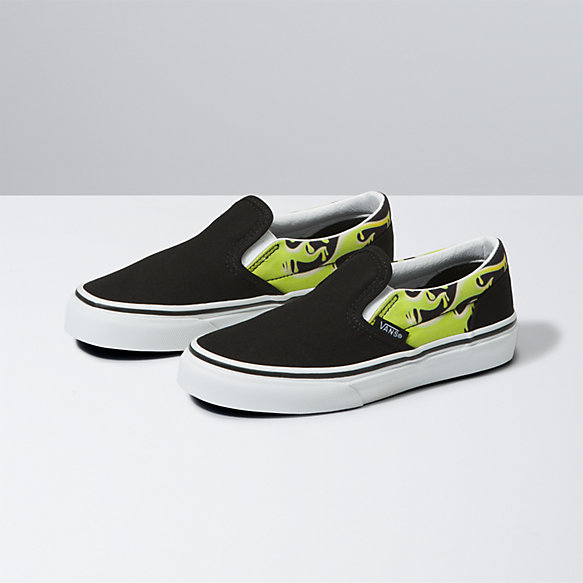 Kids Slime Flame Classic Slip-On