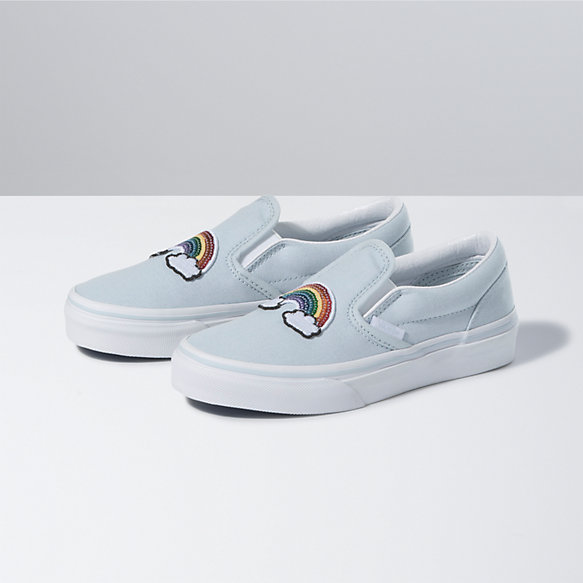 Kids Sequin Patch Classic Slip-On