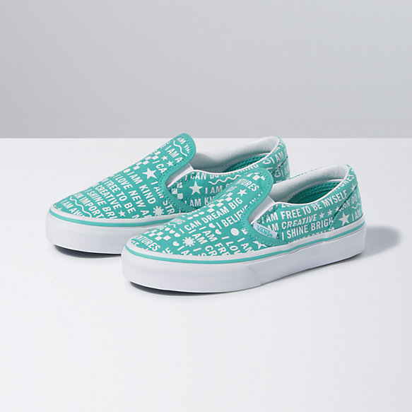 Kids Shine Bright Classic Slip-On