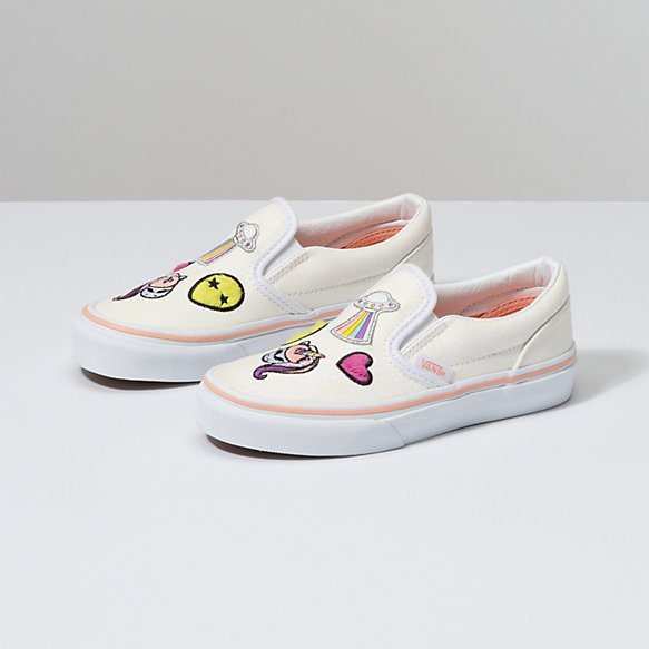 Kids Unicorn Alien Slip-On