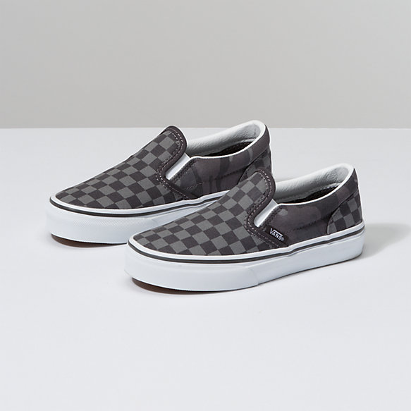 Kids Tonal Checkerboard Slip-On