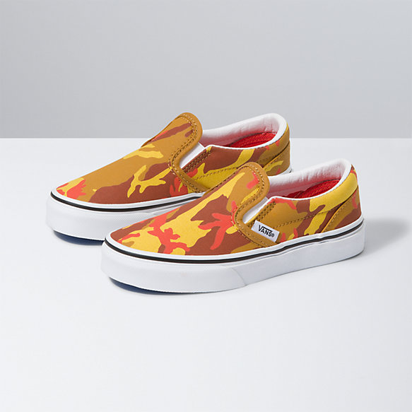 Kids Desert Camo Slip-On