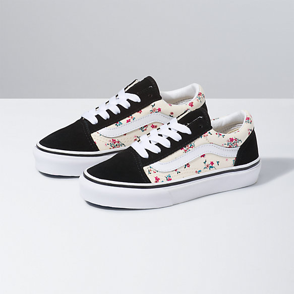 Kids Ditsy Floral Old Skool