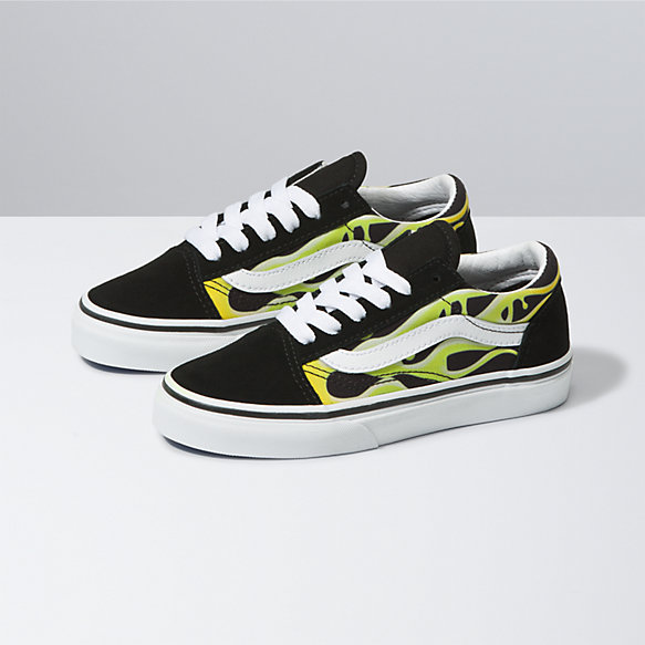 Kids Slime Flame Old Skool