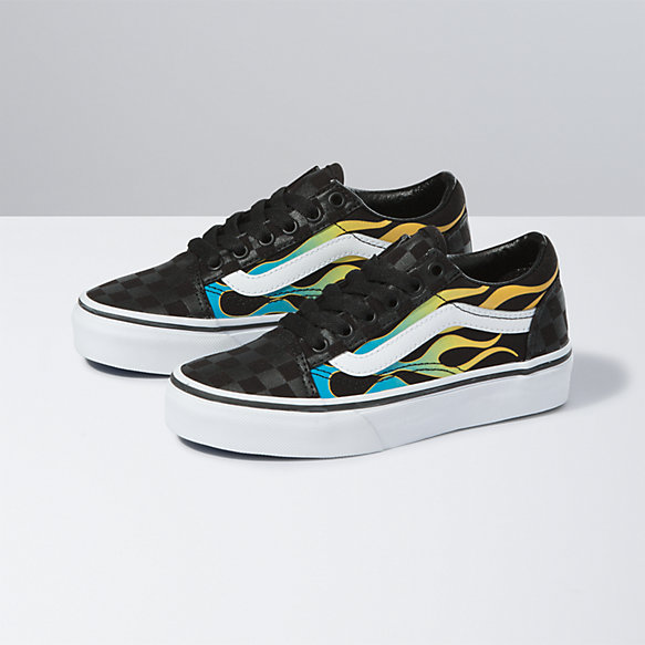 Kids Glow Flame Old Skool