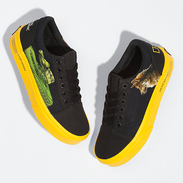 Vans X National Geographic Photo Ark Kids Old Skool