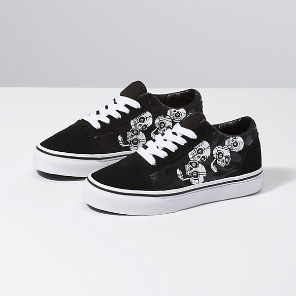 Kids Glossy Flame Old Skool