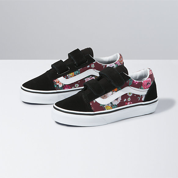 Kids Butterfly Floral Old Skool V