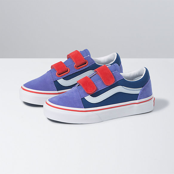 Kids Color Block Old Skool V