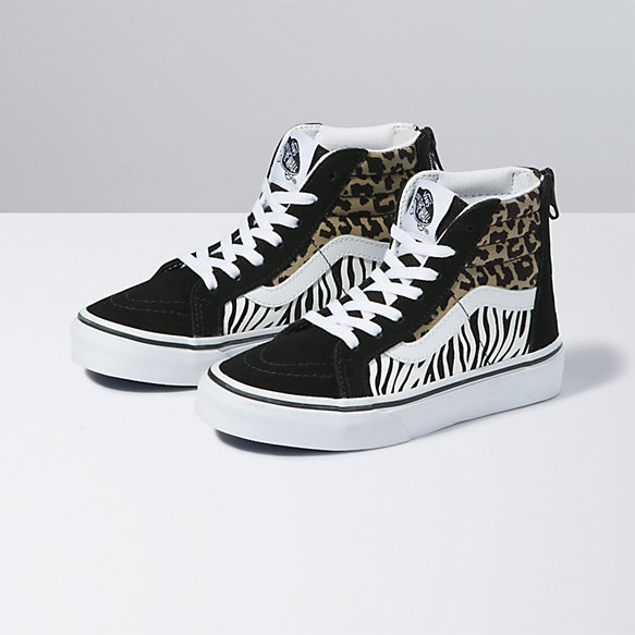 Kids Animal Mix Sk8-Hi Zip
