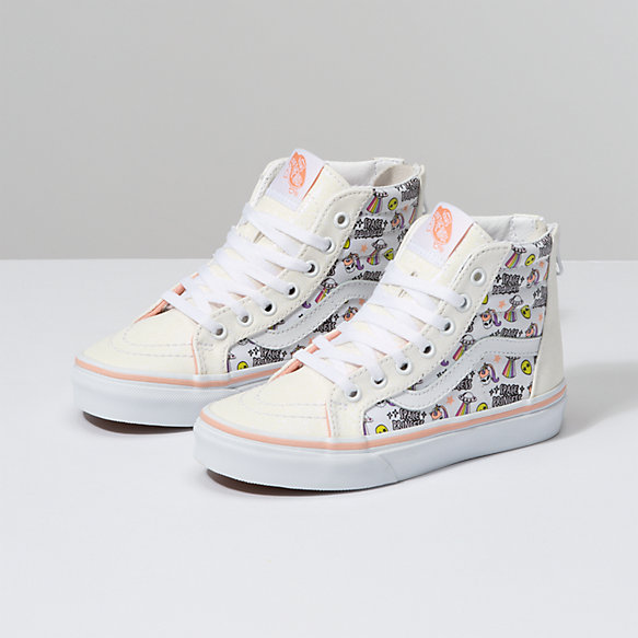 Kids Unicorn Alien Sk8-Hi Zip
