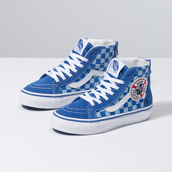 Vans x Shark Week Kids Sk8-Hi Zip