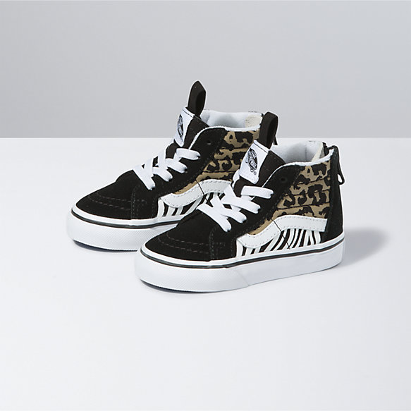 Toddler Animal Mix Sk8-Hi Zip