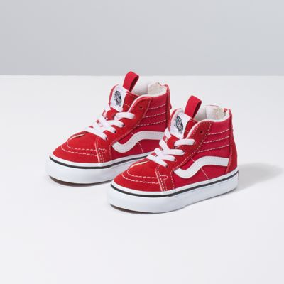 all red vans youth