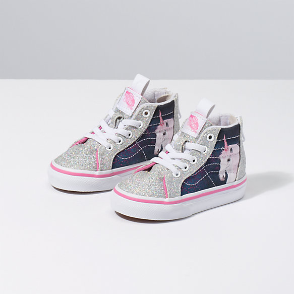 Toddler Digi Unicorn Sk8-Hi Zip