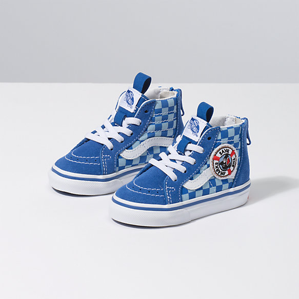 Vans x Shark Week Toddler Sk8-Hi Zip