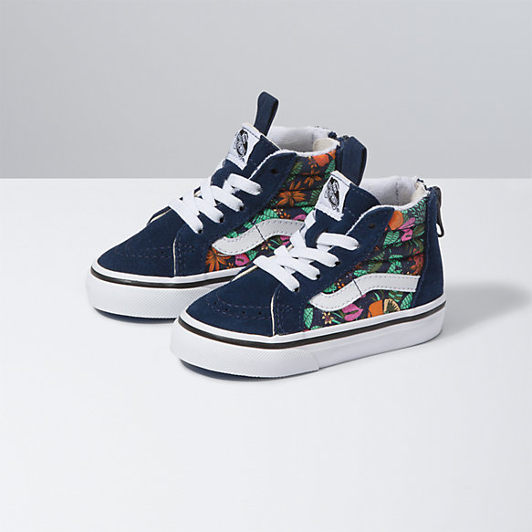 Toddler Multi Tropic Sk8-Hi Zip