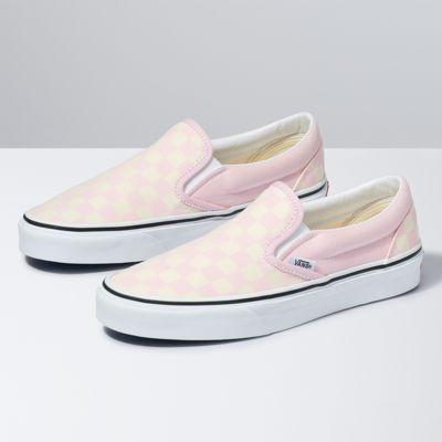 Vans Checkerboard Slip-On (Blushing Bride/Classic White)