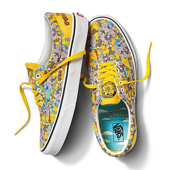 The Simpsons x Vans Era