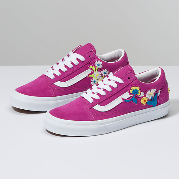 Floral Chenille Old Skool