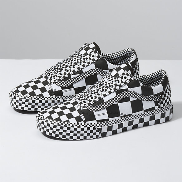 All Over Checkerboard Old Skool