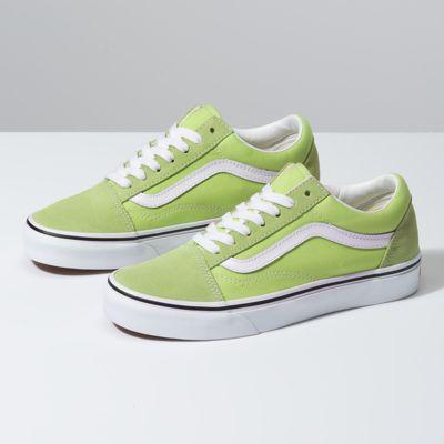 Vans Old Skool Sneaker | Green vans shoes, Green vans, Shoes
