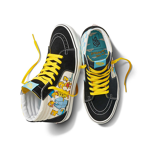 The Simpsons x Vans Sk8-Hi