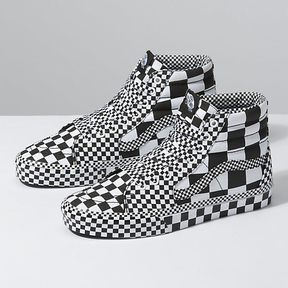 All Over Checkerboard Sk8-Hi