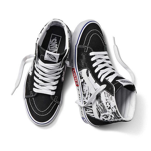 chaussures lady vans sk8-hi