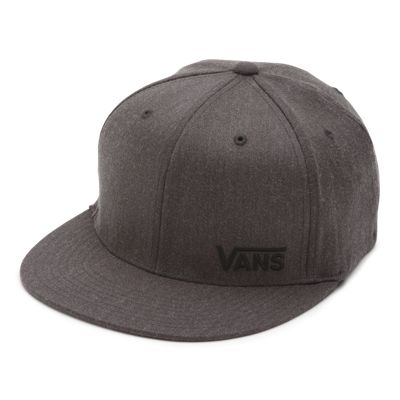 Vans Splitz Flex Fit Hat (Charcoal Heather)