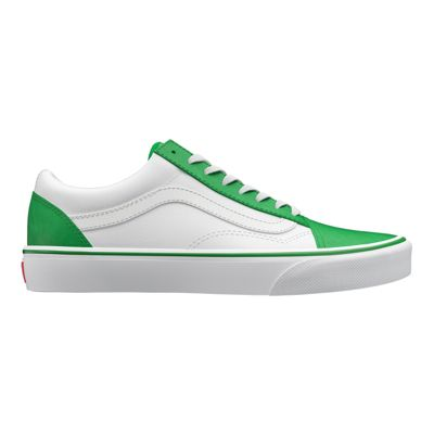Vans Womens Customs Old Skool (White/Green)