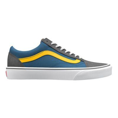 Vans Customs Old Skool (Grey/Yellow/Blue)