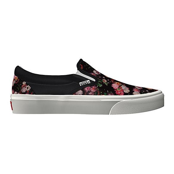 46f9dd29426f Customs Dark Floral Slip-on