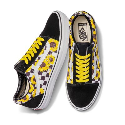 Vans Customs Sunflowers Old Skool (Custom)