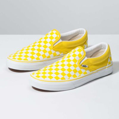 Vans Customs Checkerboard Slip-On Wide (Customs)