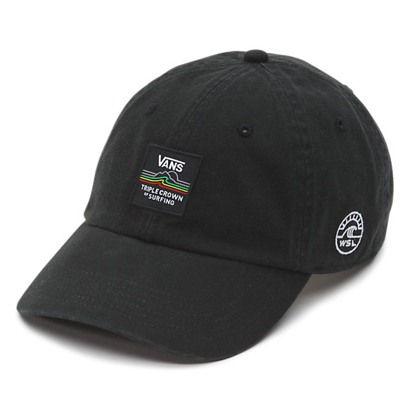 Court Side Hat -Fall 2017- Washed Black Vans