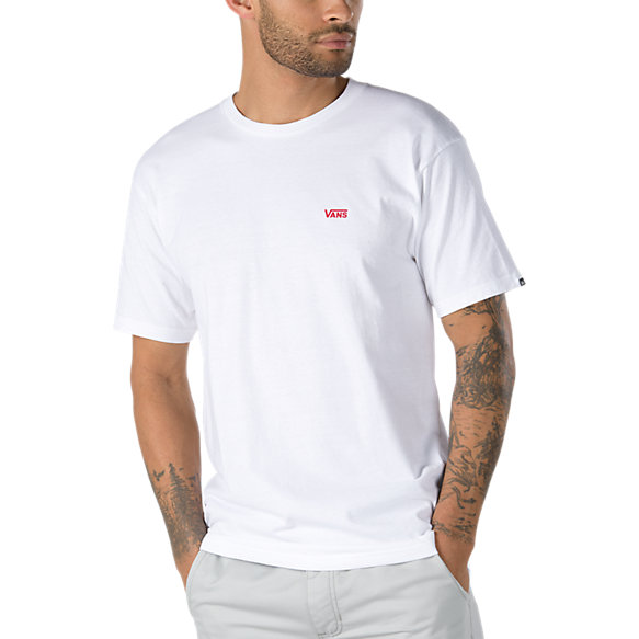 Left Chest Logo Tee Shop Mens T Shirts At Vans