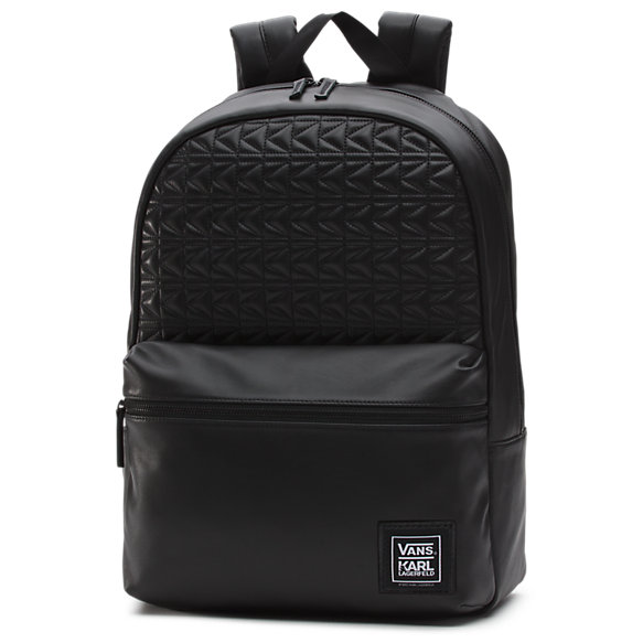Vans x KARL LAGERFELD Leather Backpack | Shop Womens Backpacks At Vans